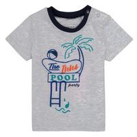 vaatteet Pojat Lyhythihainen t-paita Ikks LISIANA Harmaa