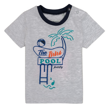 vaatteet Pojat Lyhythihainen t-paita Ikks LISIANA Grey