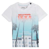 vaatteet Pojat Lyhythihainen t-paita Ikks JOSIANE White