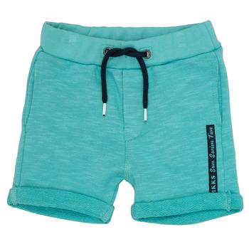 vaatteet Pojat Shortsit / Bermuda-shortsit Ikks POLEMAN Turkoosi