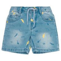 vaatteet Pojat Shortsit / Bermuda-shortsit Ikks PONERMO Sininen