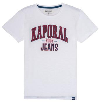 vaatteet Pojat Lyhythihainen t-paita Kaporal ERNIE White