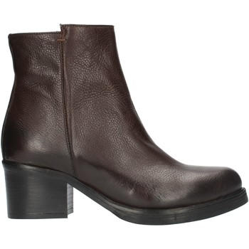kengät Naiset Nilkkurit Red Creatyve 5012 Brown