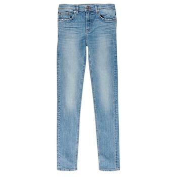 vaatteet Pojat Slim-farkut Teddy Smith FLASH Blue / Clair
