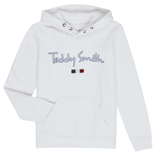 vaatteet Pojat Svetari Teddy Smith SEVEN White