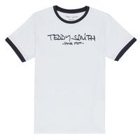 vaatteet Pojat Lyhythihainen t-paita Teddy Smith TICLASS 3 White