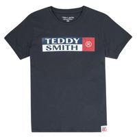 vaatteet Pojat Lyhythihainen t-paita Teddy Smith TOZO Laivastonsininen