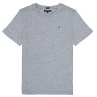 vaatteet Pojat Lyhythihainen t-paita Tommy Hilfiger KB0KB04140 Grey