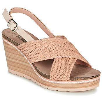 kengät Naiset Sandaalit ja avokkaat Refresh NANI Nude