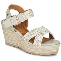 kengät Naiset Sandaalit ja avokkaat Refresh LILIOU Beige