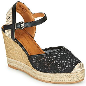 kengät Naiset Sandaalit ja avokkaat Refresh LARENA Black