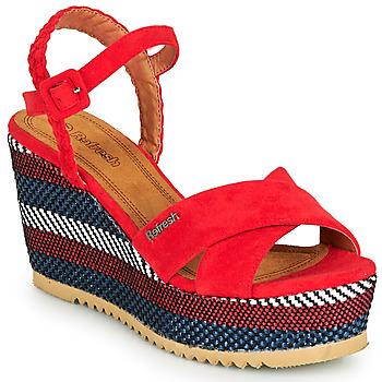 kengät Naiset Sandaalit ja avokkaat Refresh LOCKAL Red