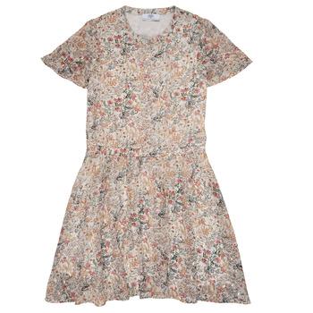 vaatteet Tytöt Lyhyt mekko Le Temps des Cerises JUNO Monivärinen