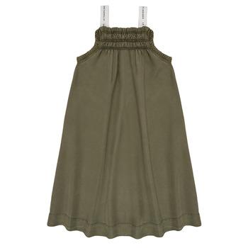 vaatteet Tytöt Lyhyt mekko Le Temps des Cerises BIJA Kaki