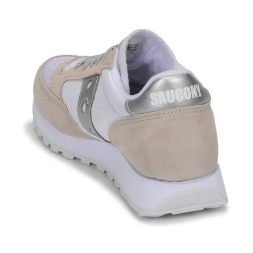 Saucony Jazz Vintage White / Beige / Hopea 16683089 Naisten kengät