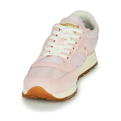 Saucony Jazz Vintage Pink - Ilmainen Toimitus- Kengät Matalavartiset Tennarit Naiset 87