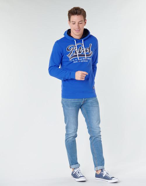 Petrol Industries Sweater Hooded Seascape - Ilmainen Toimitus- Vaatteet Svetari Miehet 28