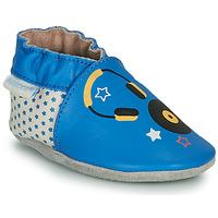 kengät Lapset Tossut Robeez MUSIC SOUND Blue / Beige