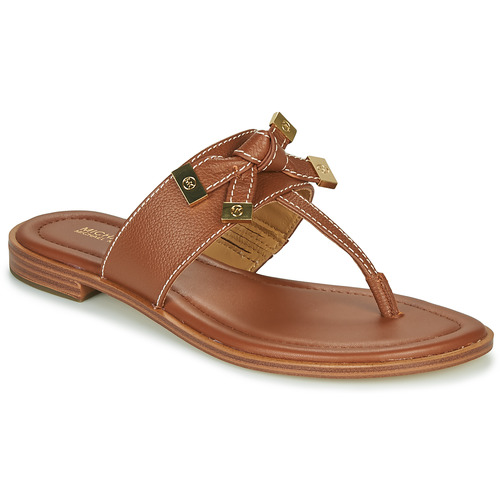 kengät Naiset Varvassandaalit MICHAEL Michael Kors RIPLEY THONG Cognac