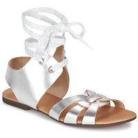 kengät Naiset Sandaalit ja avokkaat Ippon Vintage SAND LINE Hopea