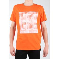 vaatteet Miehet T-paidat & Poolot Lee Logo Tee L63GAIMO orange