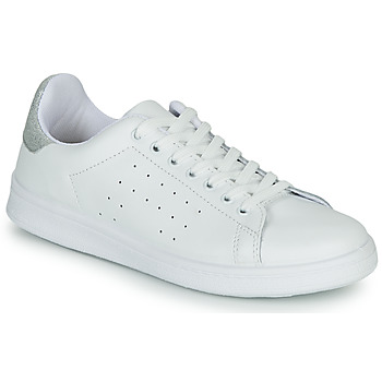 kengät Naiset Matalavartiset tennarit Yurban SATURNA White / Hopea