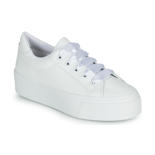 kengät Naiset Matalavartiset tennarit Yurban JUNNY White
