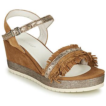 kengät Naiset Sandaalit ja avokkaat Regard DURTAL V2 CROSTA CUOIO Brown