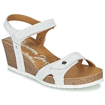 kengät Naiset Sandaalit ja avokkaat Panama Jack JULIA White