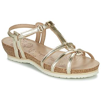 kengät Naiset Sandaalit ja avokkaat Panama Jack DORI Kulta