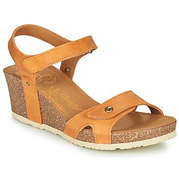 kengät Naiset Sandaalit ja avokkaat Panama Jack JULIA Keltainen