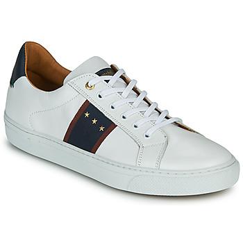 kengät Miehet Matalavartiset tennarit Pantofola d'Oro ZELO UOMO LOW White