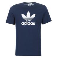 vaatteet Miehet Lyhythihainen t-paita adidas Originals ED4715 Laivastonsininen