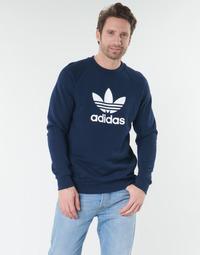 vaatteet Miehet T-paidat pitkillä hihoilla adidas Originals ED5948 Laivastonsininen