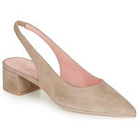 kengät Naiset Korkokengät Pretty Ballerinas ANGELIS SAFARI Beige