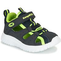 kengät Pojat Sandaalit ja avokkaat Kangaroos KI-ROCK LITE EV Sininen / Keltainen