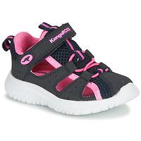 kengät Tytöt Sandaalit ja avokkaat Kangaroos KI-Rock Lite EV Blue / Pink