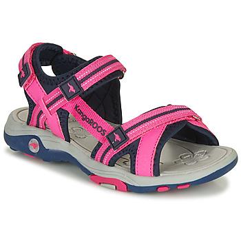 kengät Tytöt Sandaalit ja avokkaat Kangaroos K-LENI Pink