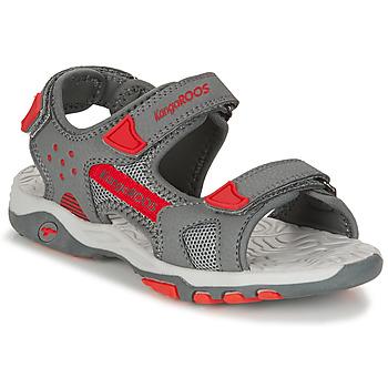 kengät Lapset Sandaalit ja avokkaat Kangaroos K-Celtic Grey / Orange