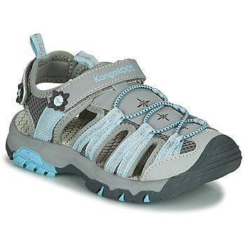 kengät Tytöt Urheilusandaalit Kangaroos KT-SONATA Grey