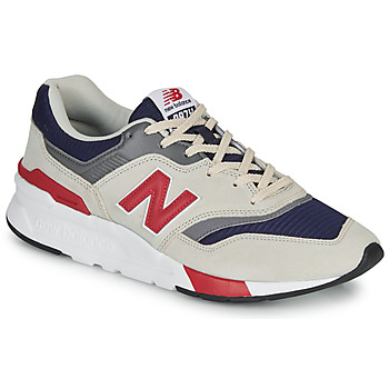 kengät Miehet Matalavartiset tennarit New Balance 997 Grey / Blue / Red