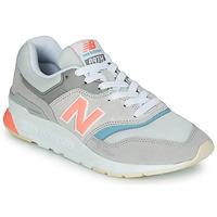 kengät Naiset Matalavartiset tennarit New Balance 997 Harmaa / Sininen / Vaaleanpunainen