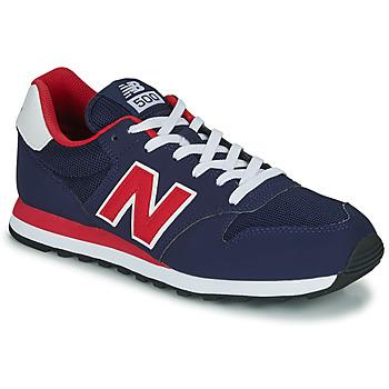 kengät Miehet Matalavartiset tennarit New Balance 500 Blue / Red