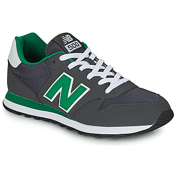kengät Miehet Matalavartiset tennarit New Balance 500 Grey / Green