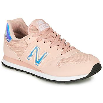 kengät Naiset Matalavartiset tennarit New Balance 500 Vaaleanpunainen