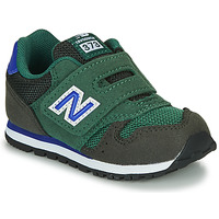 kengät Pojat Matalavartiset tennarit New Balance 373 Green / Blue