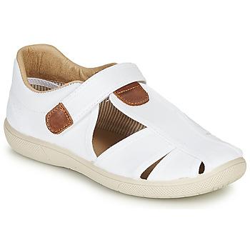 kengät Pojat Sandaalit ja avokkaat Citrouille et Compagnie GUNCAL Valkoinen