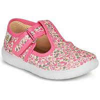 kengät Tytöt Balleriinat Citrouille et Compagnie MATITO Pink / Multicolour