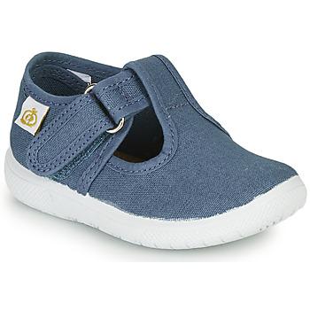 kengät Lapset Balleriinat Citrouille et Compagnie MATITO Sininen