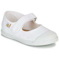 kengät Tytöt Balleriinat Citrouille et Compagnie APSUT White